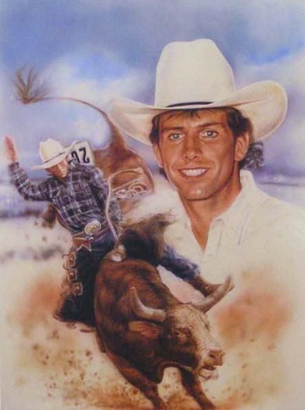 Lane Frost...Cody loved Lane Frost and the movie about his life