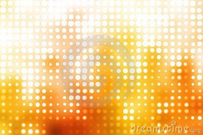 Orange And White Glowing Futuristic Background - Image: 6591681