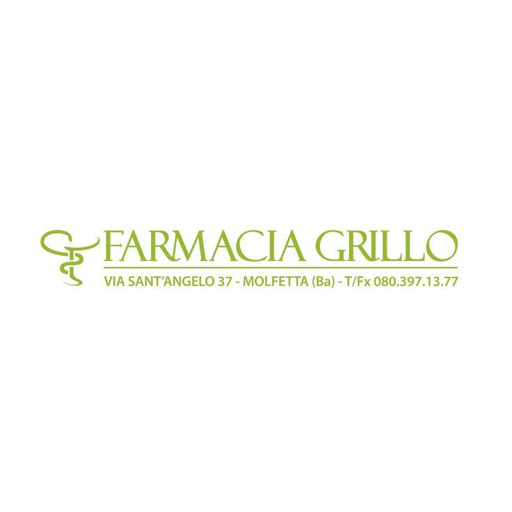 #Mammagallo #Portfolio: #Logo Farmacia Grillo (Molfetta)