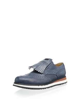 31% OFF Prada Men's Casual Oxford with Fringe (Denim)