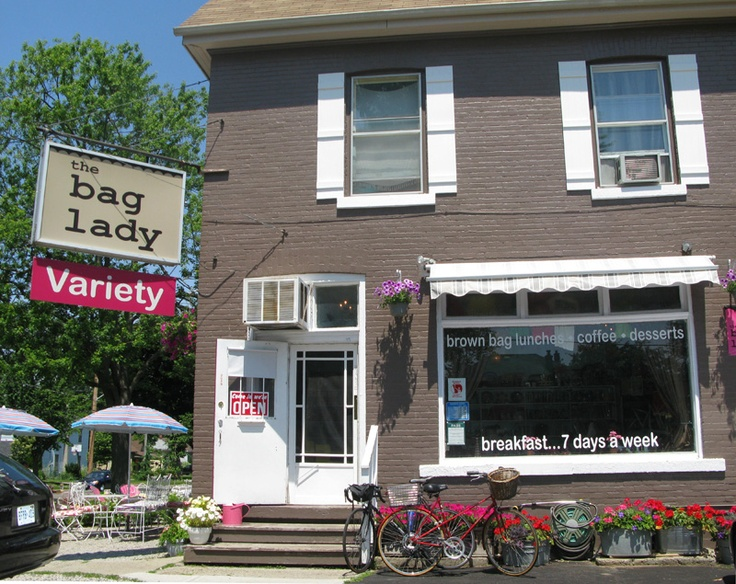 The Bag Lady, great place for bite!