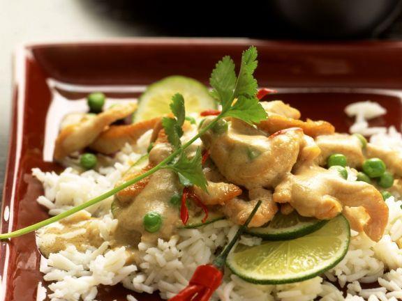 Rahmgeschnetzeltes von der Pute auf asiatische Art mit Reis ist ein Rezept mit frischen Zutaten aus der Kategorie Pute. Probieren Sie dieses und weitere Rezepte von EAT SMARTER!
