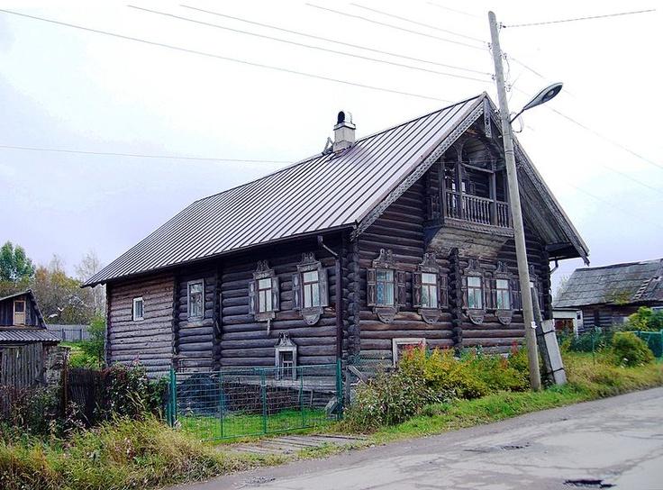 File:Дом Алешиной, Шуйская улица, 14, Сулажгора, Петрозаводск, Карелия..JPG