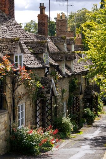Picturesque Cotswolds, Winchcombe, England