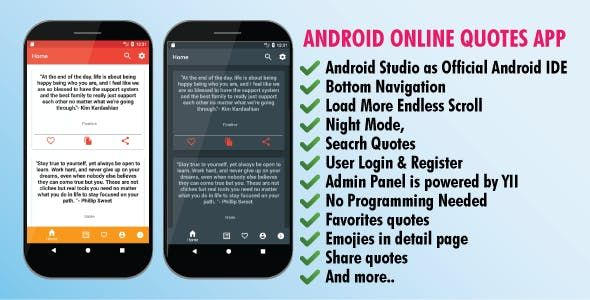 Android Online Quotes App Nulled Free Download Quotes App Reading Quotes Quotes