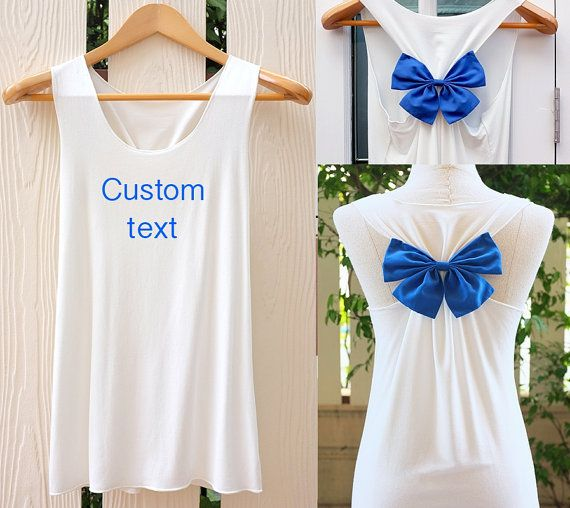 Personal Custom Tank Top. Racerbackbow. Bride to be. Tank Top. Bridal Tank Top. Bride-to-Be. Bachelorette Party Tank Tops. Work out tank top