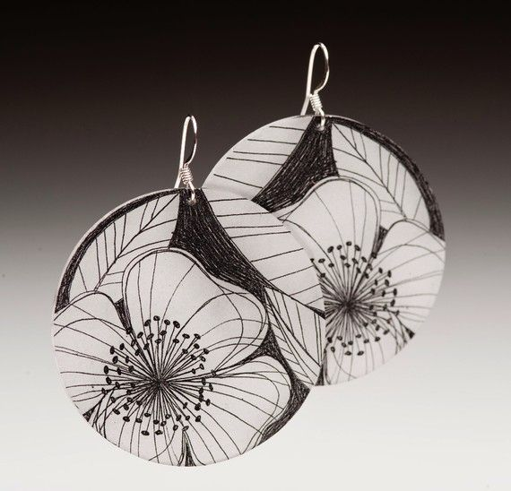 Shrink Plastic Jewelry by Passionflower - The Beading Gem's Journal