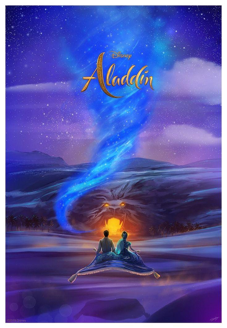 "Disney X Cinemark X RealD 3D X Poster Posse ""Aladdin"