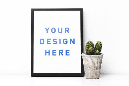 Free Poster Frame Mockup S:\Marketing\_MOM\Design Freebies\Free Design Resources\Poster-Frame-Mockup_by_Marcel_Ehret.zip