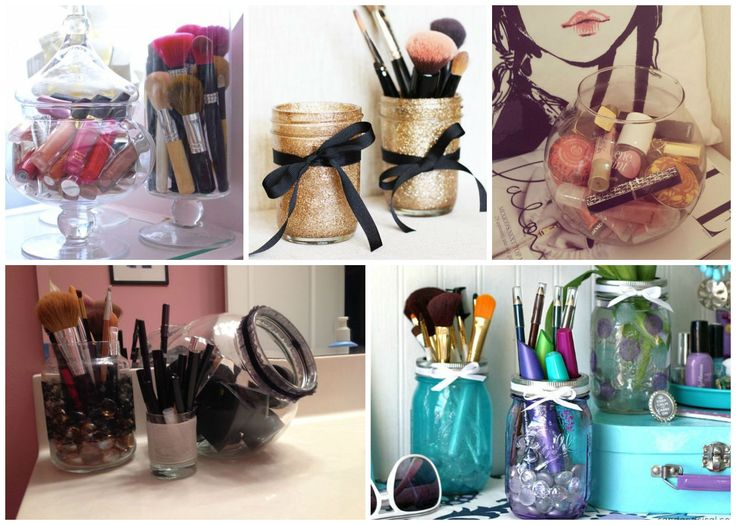 how to organize your makeups;)