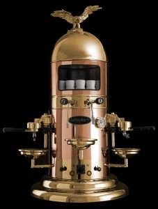 Dr Ernest Illy invented the first automatic espresso machine in 1833.