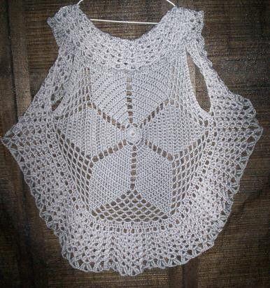 patrones de crochet para chalecos circulares | chaleco circular a crochet | Compra - Venta | Buenos Aires | Compra ...
