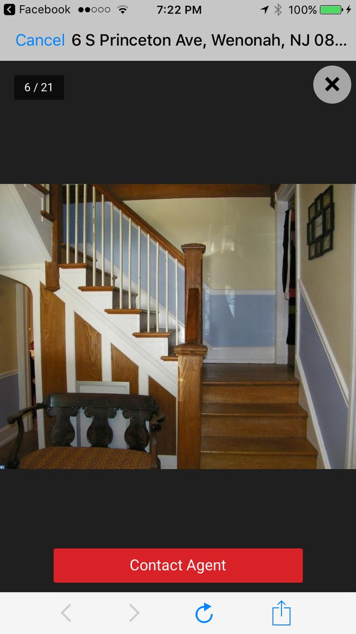 Awesome staircase/stairway in the awesome historic Victorian house/mansion I lived in #Wenonah #NJ 3-6-80-2003 haunted