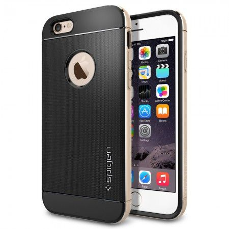 Spigen iPhone 6 Case Neo Hybrid Metal [Harga: Rp 430.000–Rp 450.000]