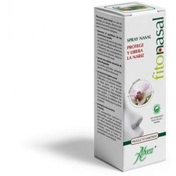 Aboca Fitonasal Spray  30ml sirve para liberar la nariz tapada en alergias y resfriados.100% natural.Cómpralo en http://www.parafarmacia-iglesias.com/aboca-fitonasal-spray-30ml