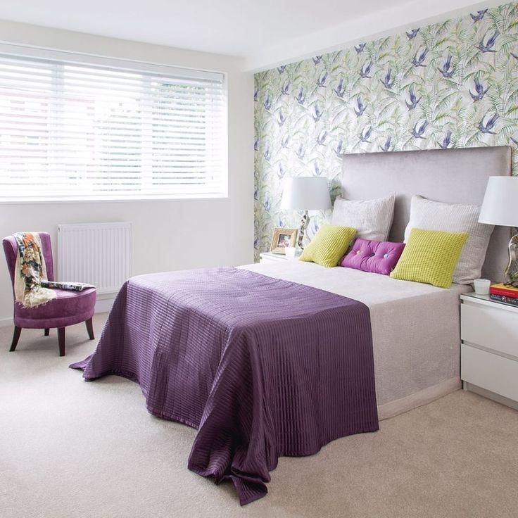 Best 25+ Purple Bedroom Decor Ideas On Pinterest | Grey Living Room Ideas  Colour Palettes, Purple Bedrooms And Purple Grey Bedrooms