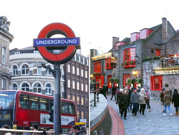 Visite de la ville de Londres.