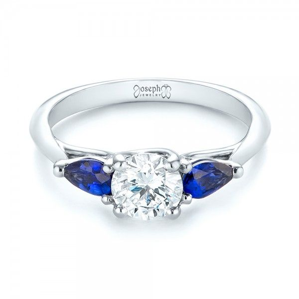 17 Best Images About Sapphire Engagement Rings On Pinterest Halo Design Yo