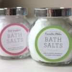 Easy DIY gifts: Bath Salts Recipe, Gifts Ideas, Gift Ideas, Diy Gifts, Bathsalt, Homemade Bath Salts, Diy Christmas Gifts, Easy Diy, Free Printables
