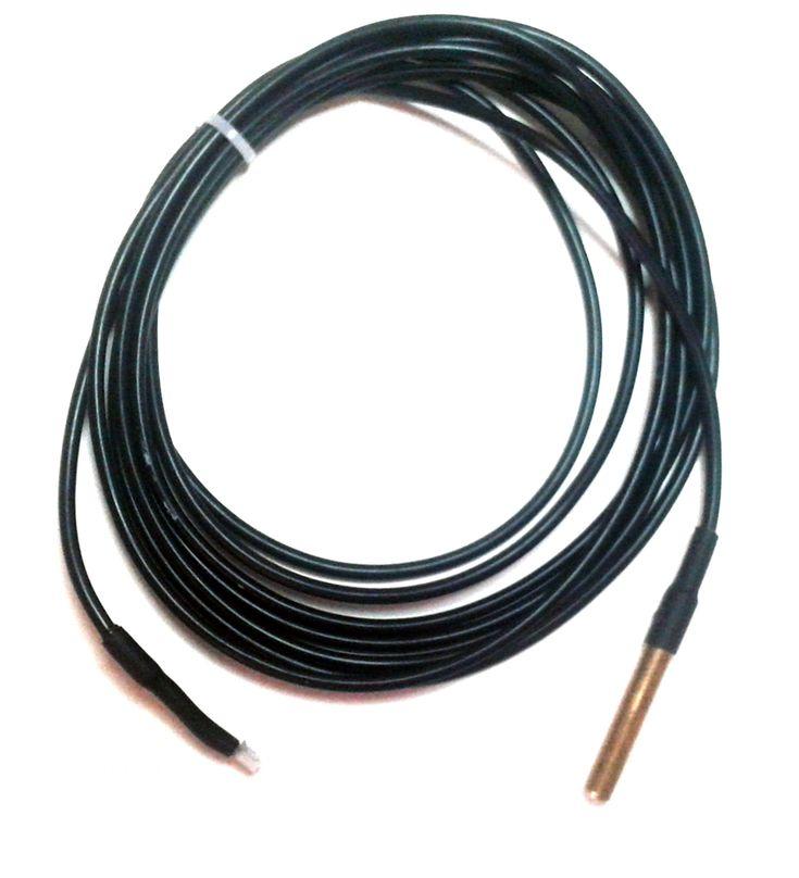 sonde de temprature cble de 3 mtres compatible avec modules encastrables z wave qubino