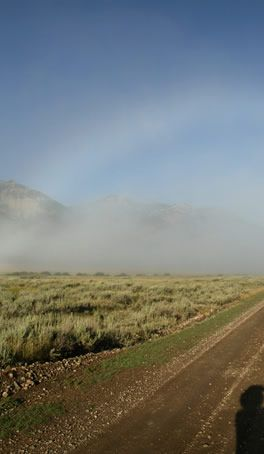 Montana Fogbow imaged by James Perdue (Photography) in the remote Centennial Valley Red Rock Lakes Wildlife Refuge, August 5 '06