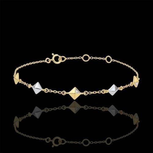 #Edenly bracciale genesi diamanti grezzi 2 ori  ad Euro 240.00 in #Edenly #Gioielleria e bigiotteria