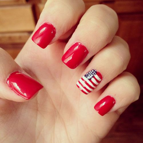 33 best images about nails on pinterest nail art designs for 4th of july nail art decoration flag