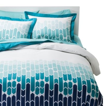 Room Essentials® Cityscape Duvet Cover Set - Blue