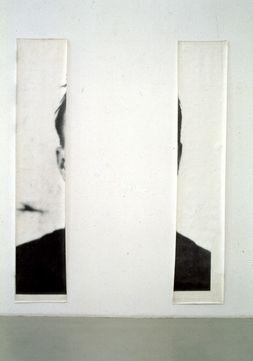 Michelangelo Pistoletto | Le orecchie di Jasper Johns (The Ears of Jasper Johns), 1966 | Photograph on paper