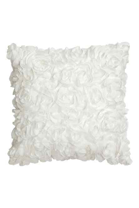 Чехол для подушки с цветами