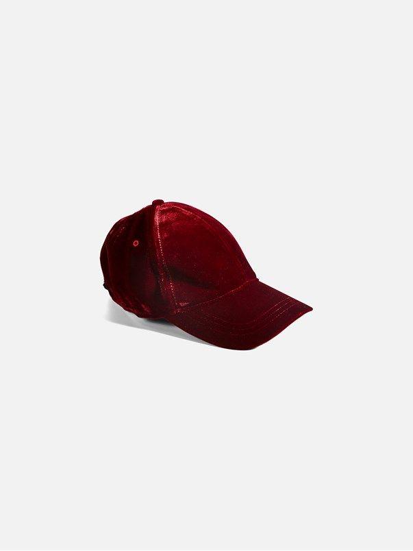 Velvet cap | | Viininpunainen | BikBok | Suomi