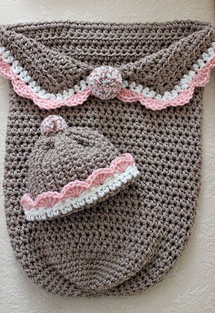 newborn to 3 months. Version of pattern from Ravelry