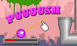 Jogue Monster cleaner online no Lejogos! Lance o monstro na tubulação! Neste jogo online gratuito você precisa de habilidades, bem como estratégia para ajudar o pequeno monstro a entrar no tubo e