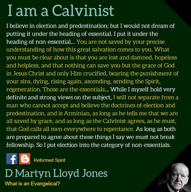 David Martyn Lloyd-Jones (20 December 1899 – 1 March 1981) was a Welsh Protestant minister, preacher and medical doctor who was influential in the Reformed wing of the British evangelical movement in the 20th century. For almost 30 years, he was the minister of Westminster Chapel in London. Lloyd-Jones was strongly opposed to Liberal Christianity, which had become a part of many Christian denominations; he regarded it as aberrant.