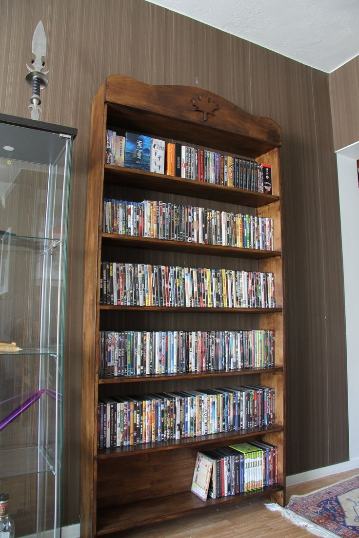 Dvd Shelving Ideas The 25 Best Diy Dvd Shelves Ideas On Pinterest  Dvd Storage