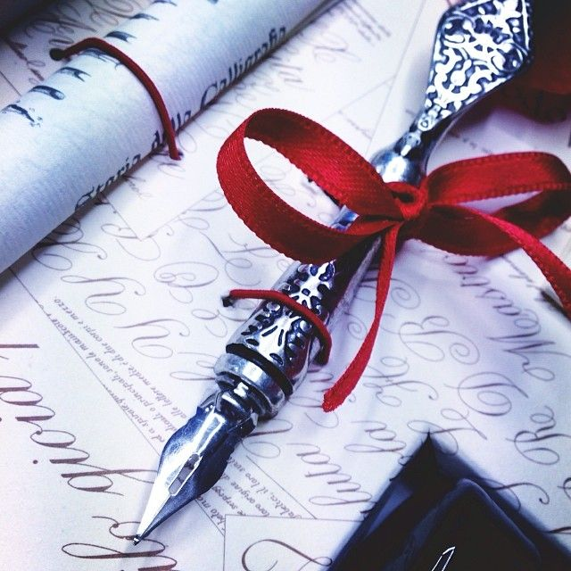 Use this quill to express yourself! #calligraphy #quill #writing #beautiful