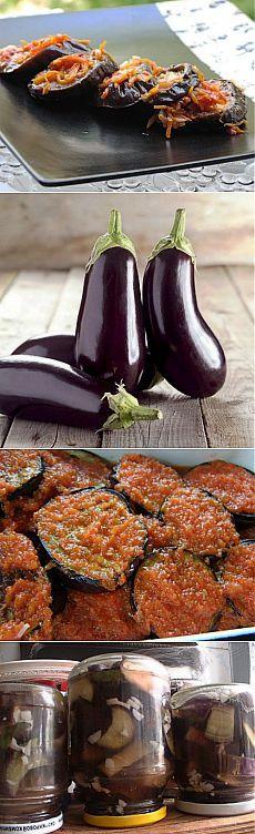 Засаливаем и маринуем резаные баклажаны / Простые рецепты