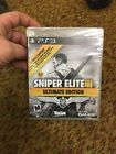 Sniper Elite III -- Ultimate Edition (Sony PlayStation 3 2015)  Price 15.5 USD 13 Bids. End Time: 2017-01-20 20:11:32 PDT