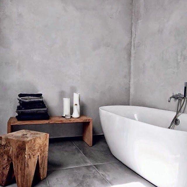 Satincrete bathroom