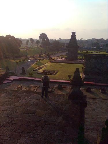 Candi Penataran obyek wisata sejarah di Kabupaten Blitar