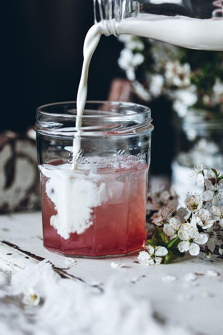 ... rhubarb Italian cream soda ...