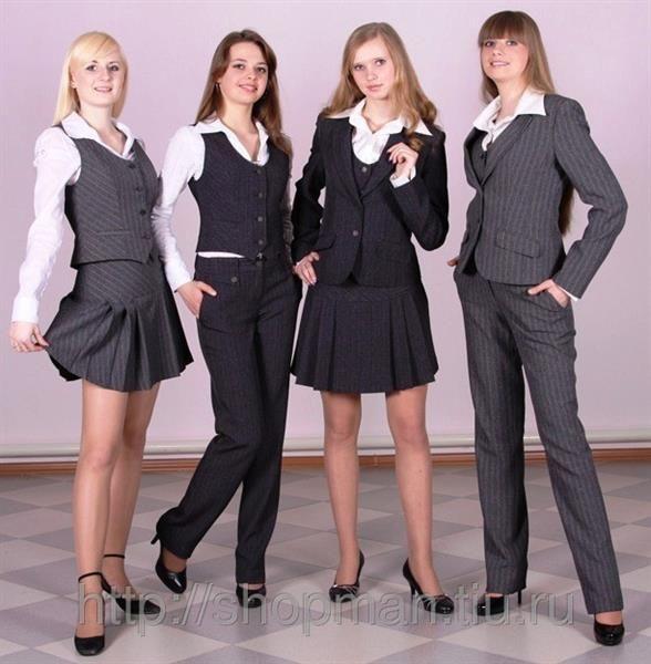 Школьный костюм для девочки фото