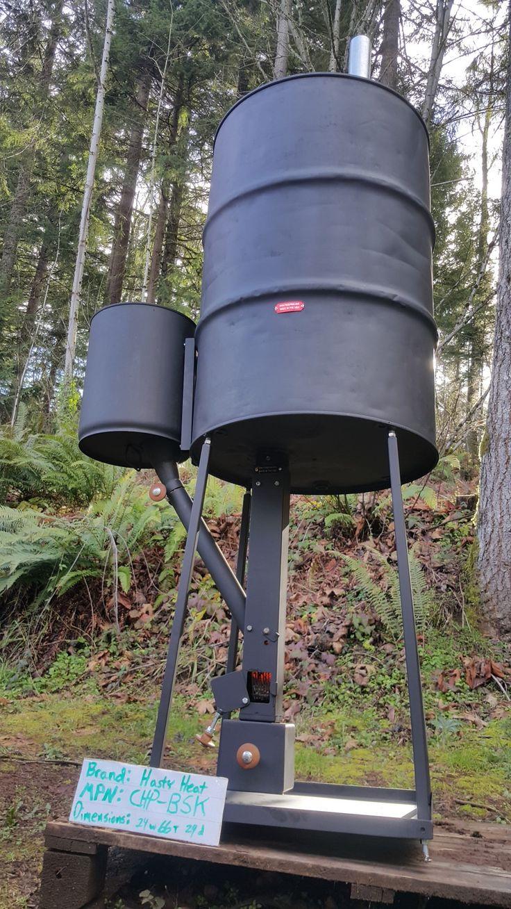CHP-BSK Wood Pellet Rocket Barell Stove Bolt On Kit Mass ...