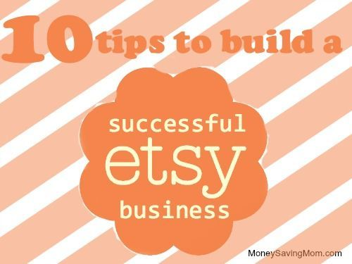 "10 Tips to Build a Successful Etsy Business  Guest post from Lauren of Funky Monkey Children  Often times when someone asks the question of how they can bring in extra income while staying home with their children, people respond with ""how about setting up an Etsy shop?"" While I think that is a wonderful suggestion, and one that I did myself back in 2012, it isn't really as simple as just building a shop and having customers flow in.  Over the past 2 years of having my Etsy shop, Funky…"