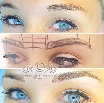 13 Months after her initial application- our gorgeous client immediately after colour boost treatment <3. Here we used champagne for the perfect microblading framing these stunning blue eyes! Visit or website at www.permanentmakeup.co.za or call us on 011 704- 3086 to book your appointment :) #permanentmakeupbygwendoline #PMUbyG #permanentmakeup #microblading #blueeyes #gorgeous #champagne #eyebrows #gorgeousbrows #happyclient #colourboost #treatment #framing