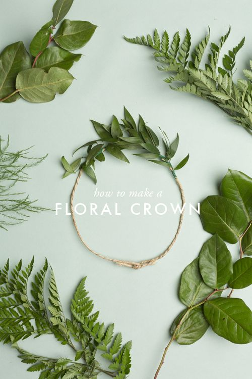 #DIY How To Make A Floral Crown