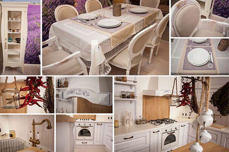 Savoare provensală într-o bucătărie clasică