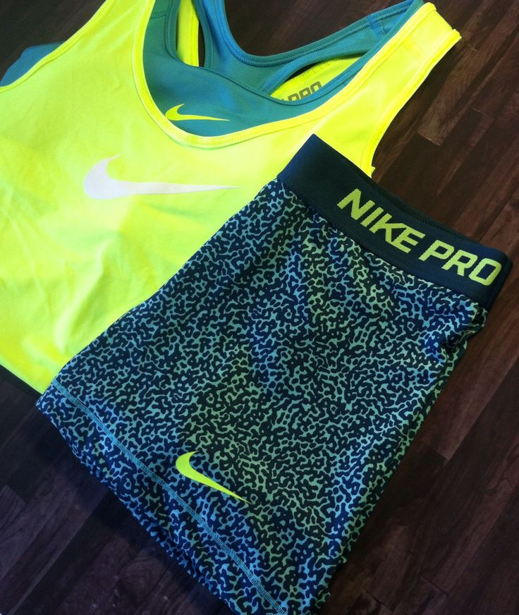 Nike Pro Compression Shorts #Volt #Womens #Fitness