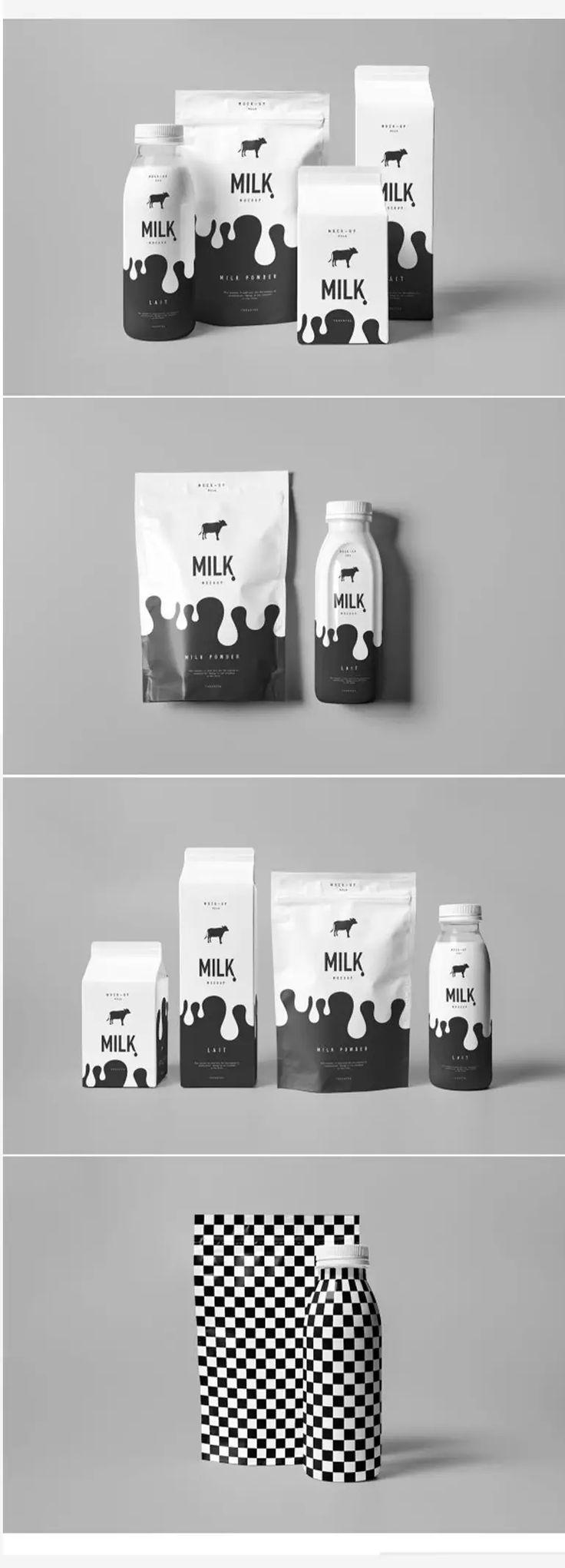 дизайн упаковки молока, разработка этикетки молока, дизайн молочной продукции украина