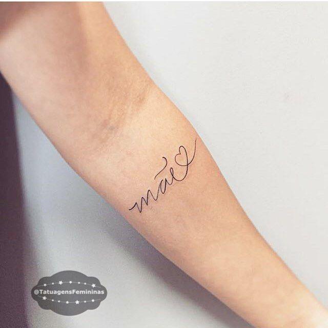 Homenagem ❤️ . . #mãe #felizdiadasmães #tatuagensfemininas